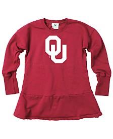 Wes & Willy Little Girls Oklahoma Sooners Fleece Dress