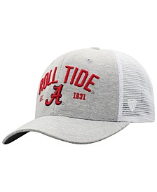 Top of the World Alabama Crimson Tide Notch Heather Trucker Cap