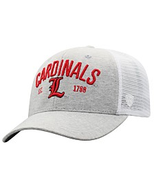 Top of the World Louisville Cardinals Notch Heather Trucker Cap