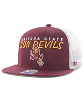 1efea3eb98b72  47 Brand Big Boys Arizona State Sun Devils Wordmark Captain Snapback Cap