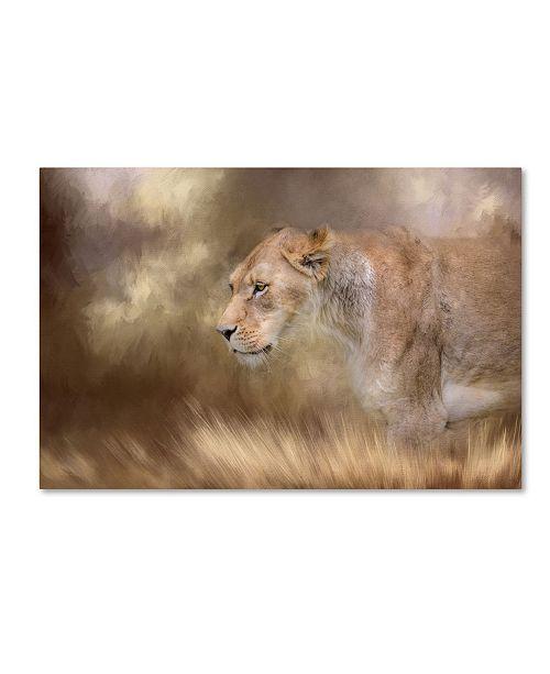 "Trademark Global Jai Johnson 'Lioness In Spring' Canvas Art - 24"" x 16"" x 2"""