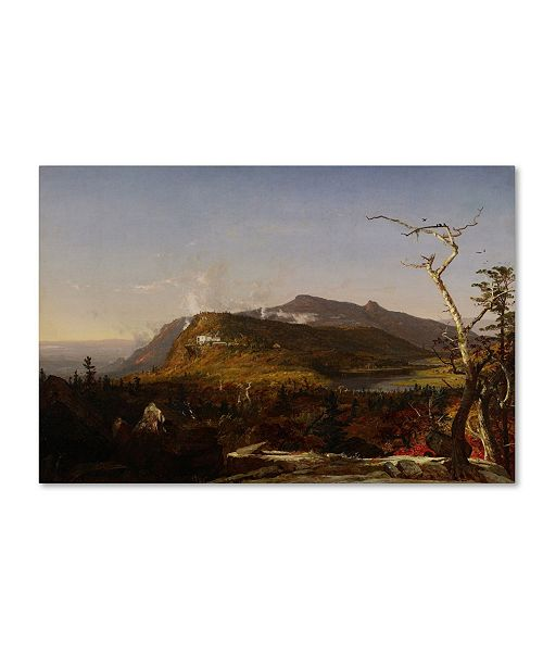 "Trademark Global Cropsey 'Catskill Mountain House' Canvas Art - 24"" x 16"" x 2"""