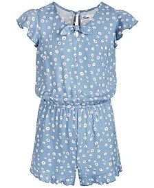 Epic Threads Big Girls Floral-Print Romper, Created for Macy's