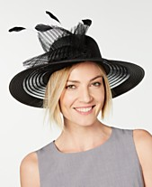 c6cf2a1d August Hats Sheer Wide-Brim Hat, Created for Macy's