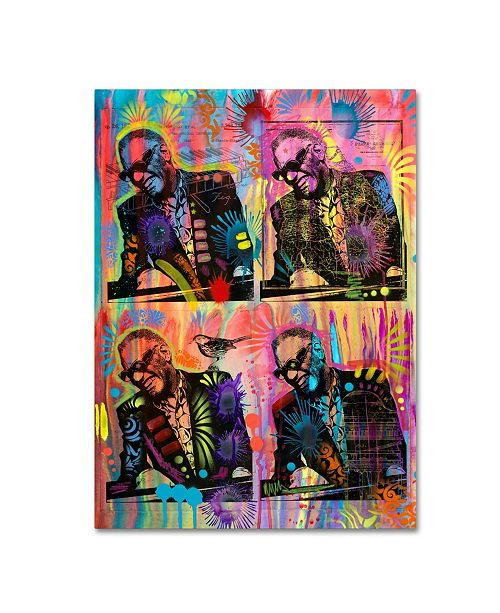 "Trademark Global Dean Russo 'Ray' Canvas Art - 19"" x 14"" x 2"""