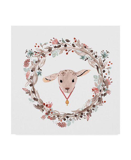 "Trademark Global Irina Trzaskos Studio 'Farm 8' Canvas Art - 14"" x 14"" x 2"""