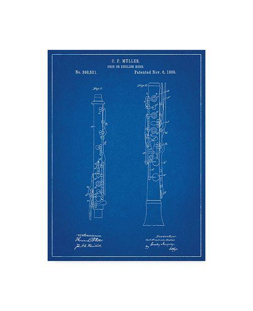 "Trademark Global Cole Borders 'Instrument 1' Canvas Art - 19"" x 14"" x 2"""