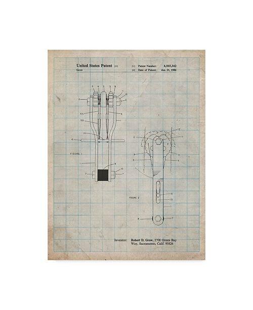 "Trademark Global Cole Borders 'Mechanics 26' Canvas Art - 24"" x 18"" x 2"""