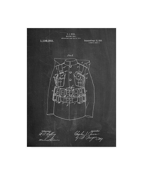 "Trademark Global Cole Borders 'Uniform' Canvas Art - 32"" x 24"" x 2"""