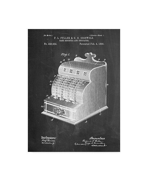 "Trademark Innovations Cole Borders 'Cash Register' Canvas Art - 32"" x 24"" x 2"""