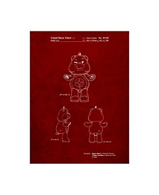 """Cole Borders 'Good Luck Care Bear' Canvas Art - 32"""" x 24"""" x 2"""""""