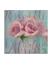 "Cora Niele 'Perfume Of Love' Canvas Art - 24"" x 24"" x 2"""