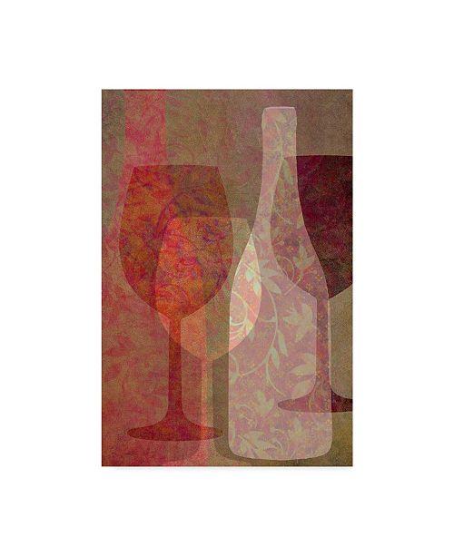 "Trademark Global Cora Niele 'Art Of Wine - Rhone Valley' Canvas Art - 32"" x 22"" x 2"""