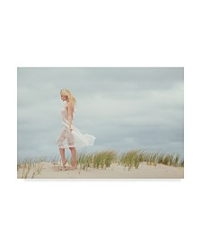 "Jae 'Liz On The Beach' Canvas Art - 32"" x 2"" x 22"""