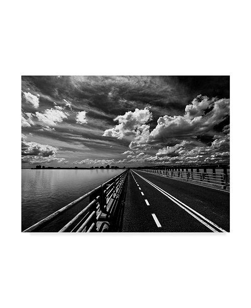 "Trademark Global David Senechal Photographie 'Bridge Street' Canvas Art - 32"" x 2"" x 24"""