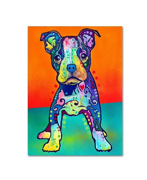 """Trademark Global Dean Russo 'On My Own' Canvas Art - 18"""" x 24"""" x 2"""""""