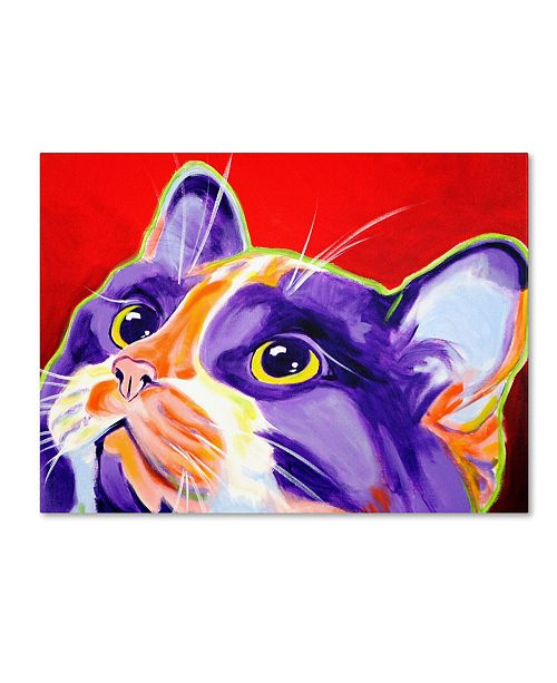 "Trademark Global DawgArt 'Cat Issa' Canvas Art - 19"" x 14"" x 2"""