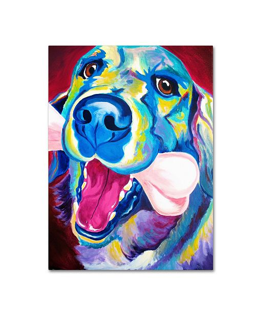 "Trademark Global DawgArt 'My Favorite Bone Reboot' Canvas Art - 24"" x 32"" x 2"""