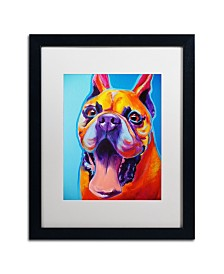 """DawgArt 'Tyson' Matted Framed Art - 20"""" x 16"""" x 0.5"""""""