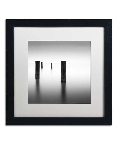 "Trademark Global Dave MacVicar 'Lucid' Matted Framed Art - 16"" x 16"" x 0.5"""