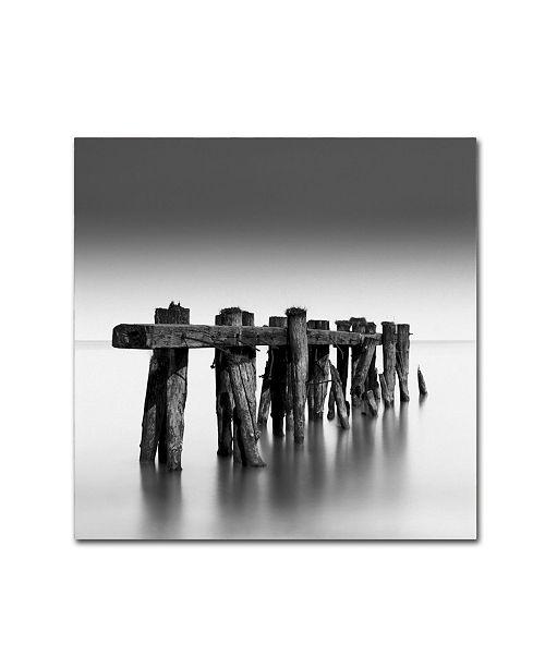 "Trademark Global Dave MacVicar 'Weathered' Canvas Art - 18"" x 18"" x 2"""
