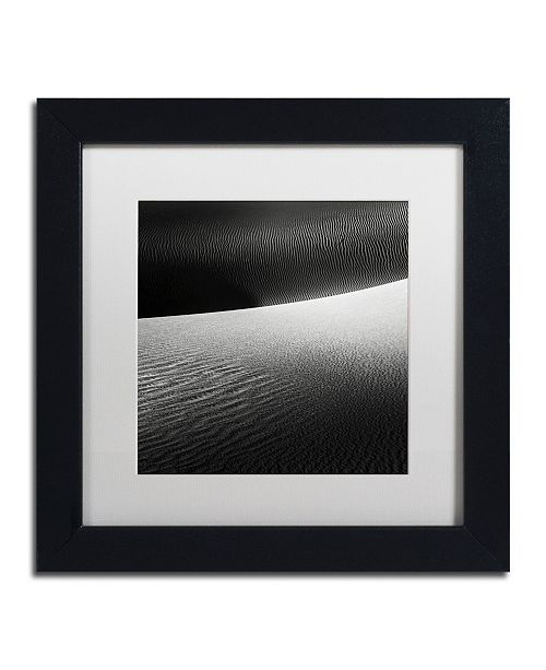 """Trademark Global Dave MacVicar 'Perpendicular' Matted Framed Art - 11"""" x 11"""" x 0.5"""""""