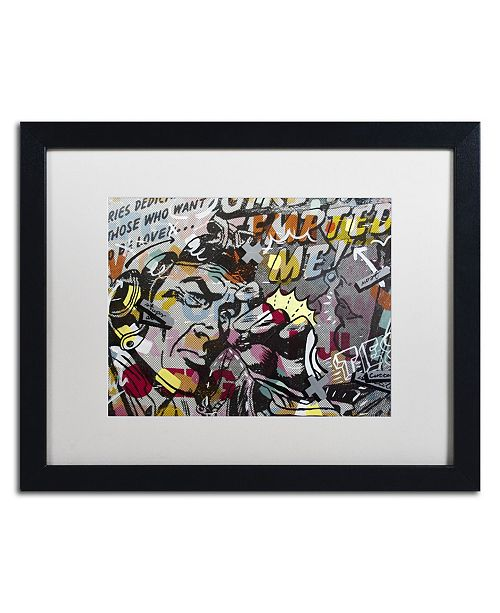 "Trademark Global Dan Monteavaro 'Mimosas' Matted Framed Art - 16"" x 20"" x 0.5"""