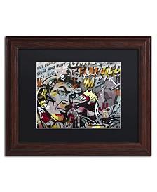 "Dan Monteavaro 'Mimosas' Matted Framed Art - 14"" x 11"" x 0.5"""