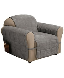 P/Kaufmann Home Faux Suede Ultimate Chair Protector