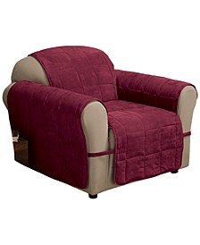 Faux Suede Ultimate Chair Protector
