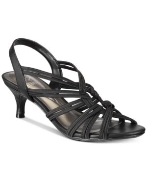 Impo Eileen Stretch Kitten-Heel Dress Sandals Women's Shoes