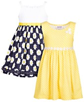 8cb4250fde0 Blueberi Boulevard Baby Girls 2-Pk. Daisy Dresses