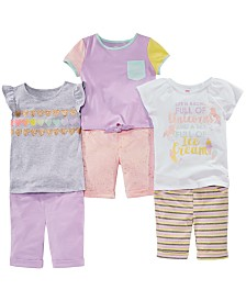 Epic Threads Little Girls Mix & Match T-Shirts & Bermuda Shorts Separates, Created for Macy's