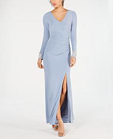 Vince Camuto Embellished Starburst Gown