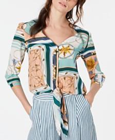 Marella Tris Silk Printed Blouse