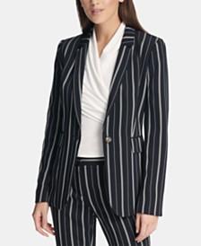 DKNY Multi-Stripe Blazer