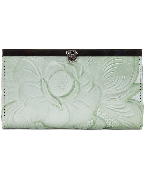 Patricia Nash Cauchy Tooled Rose Wallet
