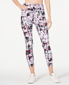 Calvin Klein Performance Printed High-Rise Ankle Leggings