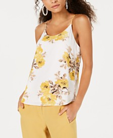 Bar III Floral Camisole, Created for Macy's