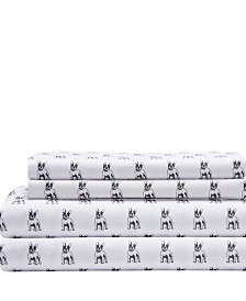 Microfiber Whimsical California King Sheet Set