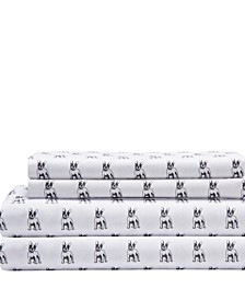 Microfiber Whimsical Queen Sheet Set