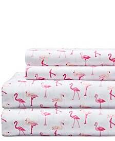 Microfiber Whimsical Twin Sheet Set