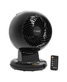 IRIS USA Woozoo C15T Remote Controlled Compact Oscillating Circulating Fan