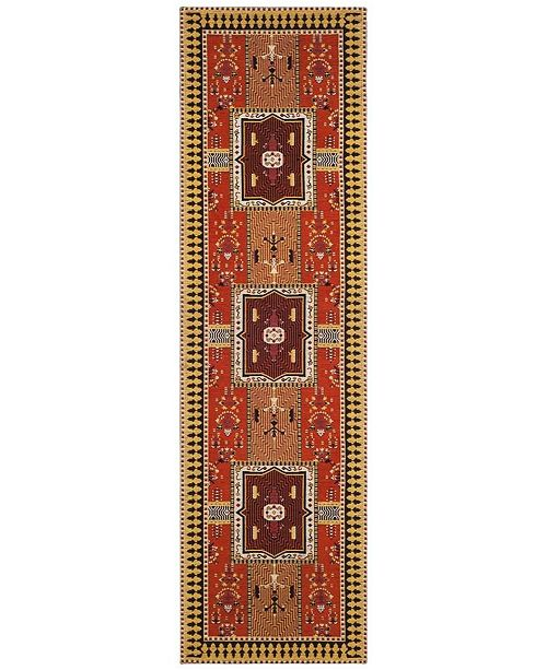 Safavieh Classic Vintage Rust and Brown 8' x 10' Area Rug