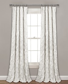 "Ravello Pintuck Window Curtain Panel, 52""x84"""