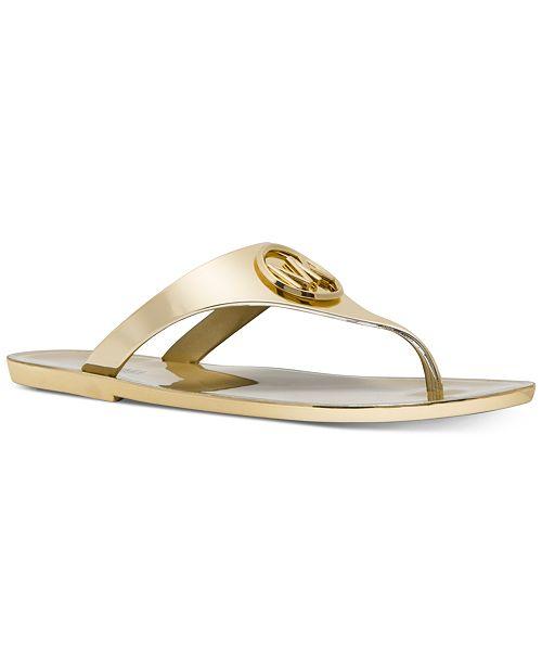Michael Kors Lillie Jelly Thong Sandals