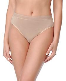 Warner's Women's Breathe Freely™ Lace Trim Hi-Cut Brief Underwear RT4901P