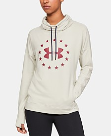Under Armour Graphic Funnel-Neck Hoodie