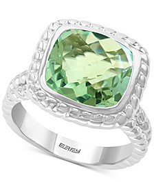 EFFY® Green Quartz (4-1/3 ct. t.w.) Ring in Sterling Silver