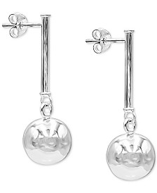 Giani Bernini Polished Ball Drop Earrings, Created for Macy's